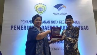 Wali Kota Ingin Media Group Promosikan Baubau