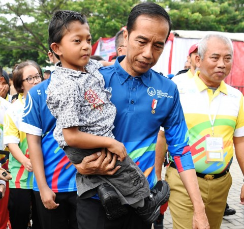 Akhirnya, Adul Bertemu Presiden Jokowi