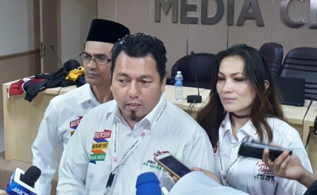 Direktur Hukum dan Advokasi TKN-KIK Ade Irfan Pulungan. Foto: Medcom.id/Faisal Abdalla.