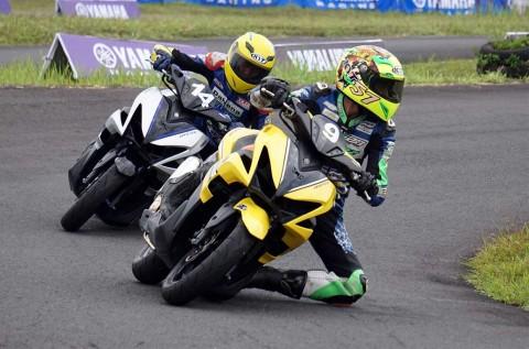 Serunya Kelas Aerox di Yamaha Cup Race Semarang