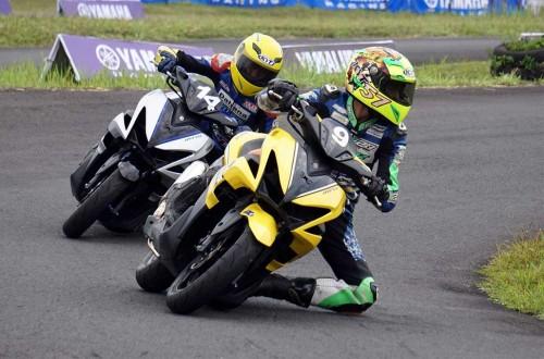 Komunitas balap, seru-seruan di ajang balap Aerox Yamaha Cup