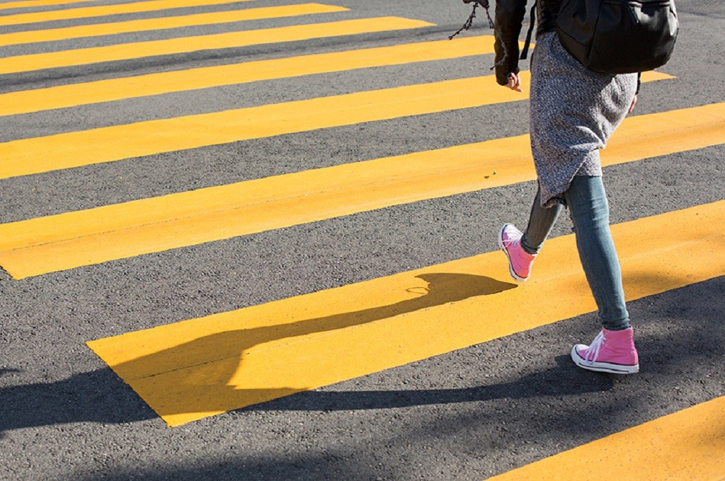 Ilustrasi trotoar, Medcom.id - M Rizal