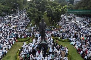Reuni 212 Terselenggara karena Jokowi Demokratis