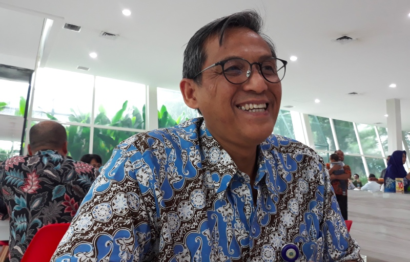 Direktur Jenderal Informasi dan Diplomasi Publik Kementerian Luar Negeri Republik Indonesia, Cecep Herawan. (Foto: Marcheilla Ariesta/Medcom.id).