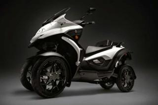 Quadro e-Qooder, Motor Listrik Roda Empat