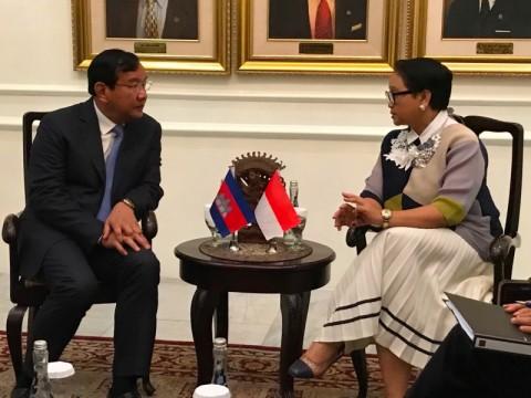 Kamboja Tegaskan Dukungan Konsep Indo-Pasifik Indonesia