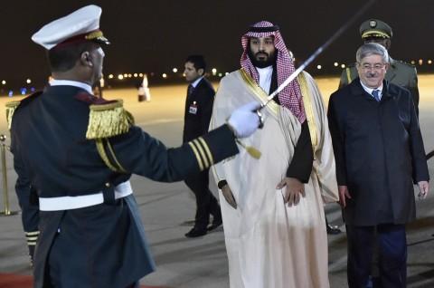 Putra Mahkota Saudi Disambut Dingin di Aljazair