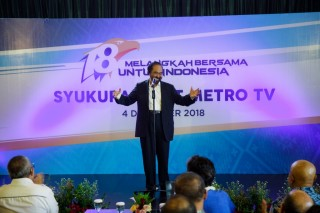 Surya Paloh: <i>Metro TV</i> Semangat Indonesia