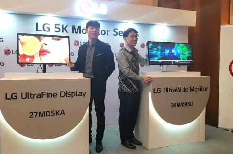 LG Boyong Monitor 5K Pertama di Indonesia