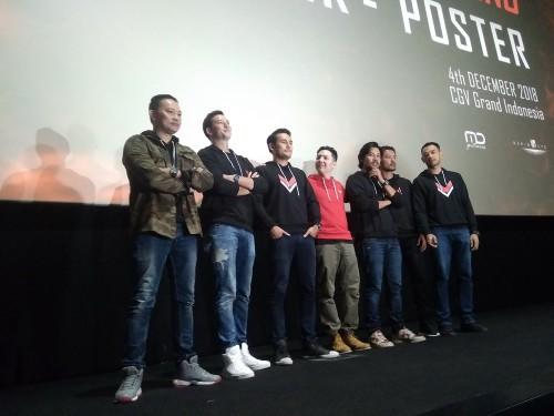 Poster dan trailer resmi Foxtrot Six dirilis di CGV Grand