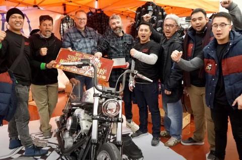 Builder Indonesia Sambangi Builder Eropa di Custombike Show Jerman
