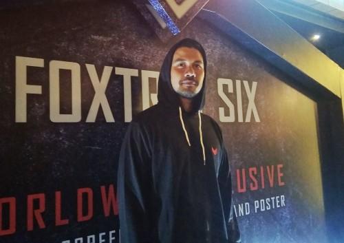 Chicco Jerikho dalam jumpa media film Foxtrot Six di CGV Grand