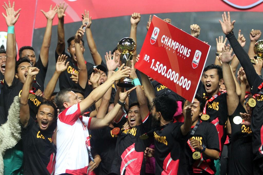 PSS Sleman Juara Liga 2 Indonesia