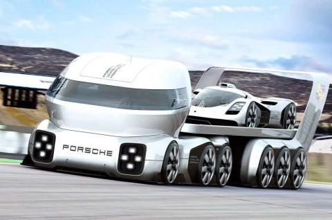Porsche GT Vision Truck, Penampakan Imajinasi Imnadze