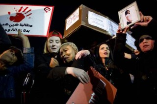 Ribuan Wanita Israel Protes Meningkatnya Kasus KDRT