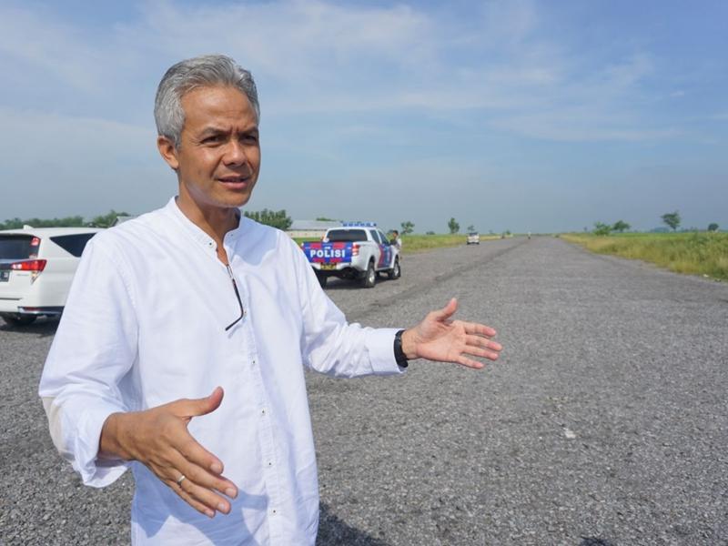Gubernur Jawa Tengah Ganjar Pranowo. Medcom.id/Budi Arista Romadhoni