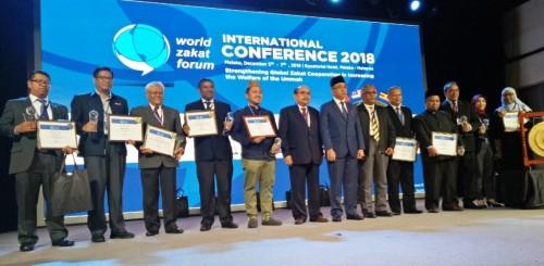 World Zakat Forum (WZF) 2018 diselenggarakan di Hotel Equator,