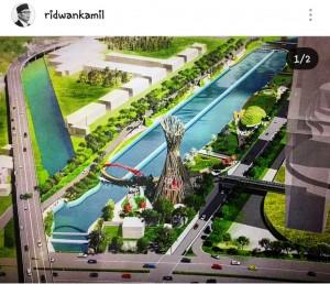 Ini Desain 'Cheyonggyecheon' van Kali Malang