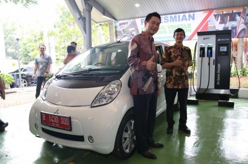 BPPT Resmikan stasiun pengisian cepat kendaraan listrik.