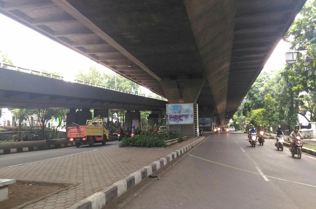 Suasana di kolong Jembatan Pasupati, lokasi yang dianggap rawan begal di Kota Bandung, Rabu, 5 Desember 2018, Medcom.id - Roni Kurniawan