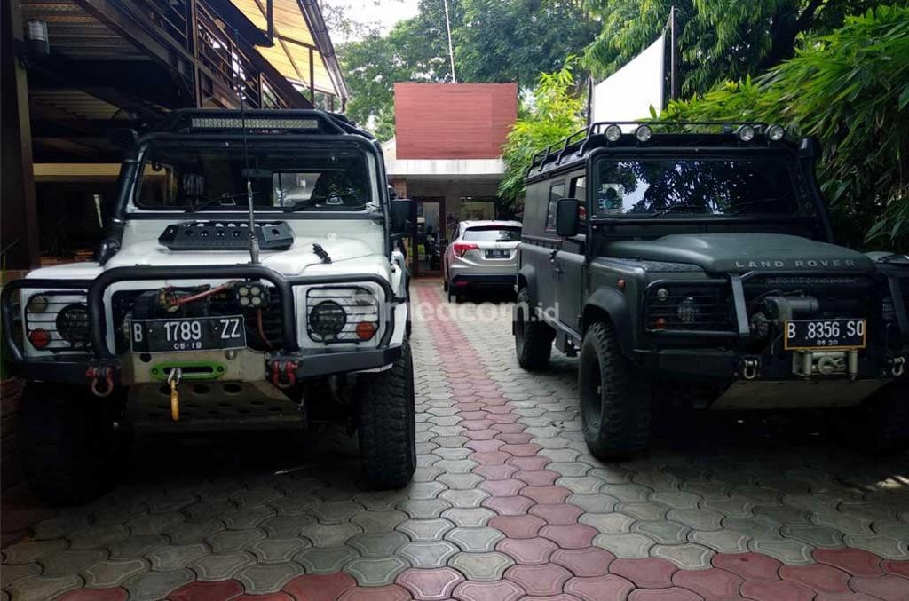 Indonesia Land Rover United siap menggelar Festival Camping. Medcom.id/M. Bagus Rachmanto