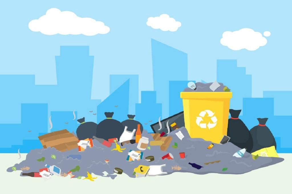 Ilustrasi sampah, Medcom.id