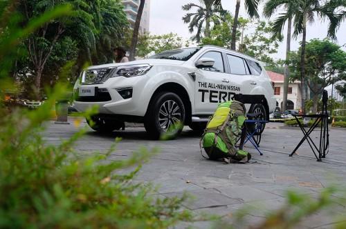 Nissan Terra sudah melakukann uji tabrak oleh ASEAN NCAP.