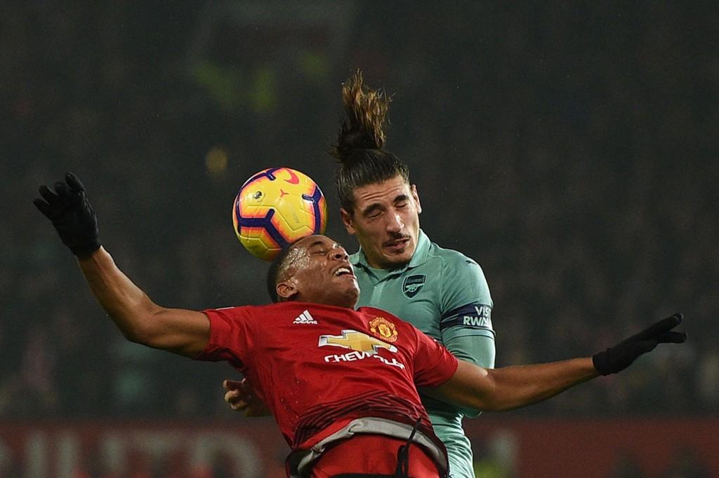 MU Imbangi Arsenal di Old Trafford