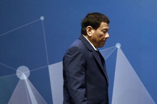 Presiden Filipina Rodrigo Duterte. (Foto: AFP)