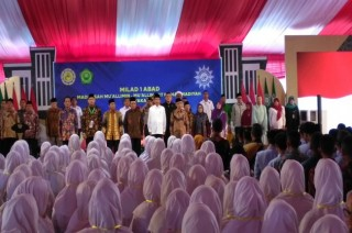President Jokowi Visits Mualimin Muhammadiyah School