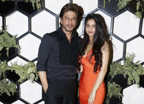 Shah Rukh Khan dan Suhana Khan (Foto: via indiatimes)