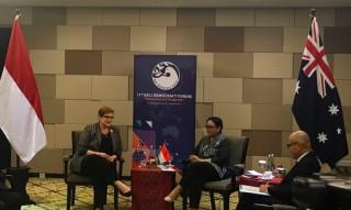 Indonesia-Australia Sepakat Pentingnya Perempuan di Demokrasi
