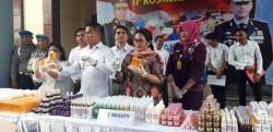Polisi Bongkar Kosmetik Palsu di Jatim