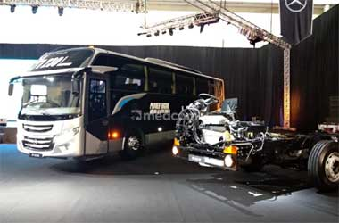 Mercedes-Benz lengkapi jajaran busnya dengan unit OF 1623 dan