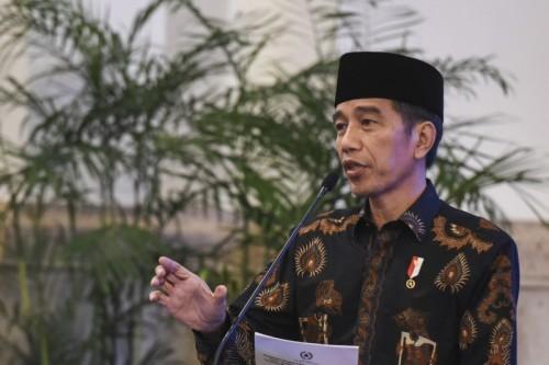 President Joko Widodo (Photo:Antara/Hafidz Mubarak)