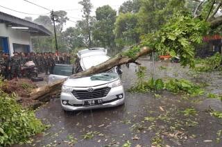 Puting Beliung Menerjang Bogor, Satu Orang Tewas
