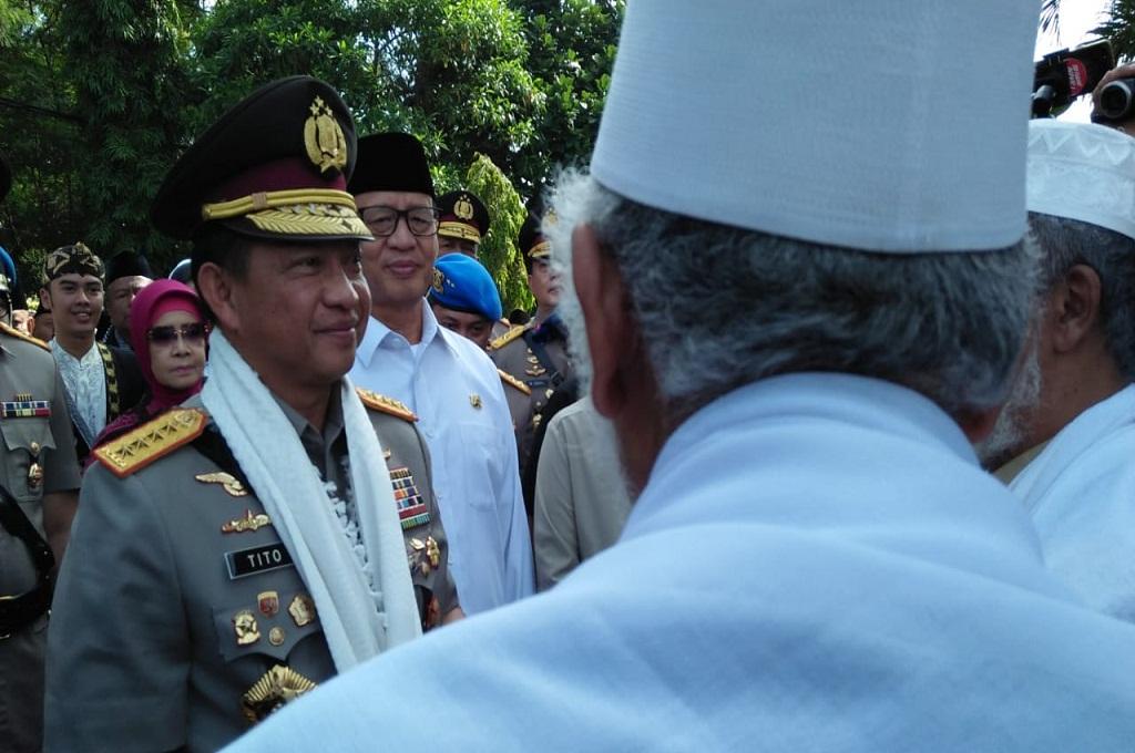 Kapolri Jenderal Tito Karnavian di Tangerang, Banten, Kamis 6 Desember 2018, Medcom.id - Hendrik Simorangkir