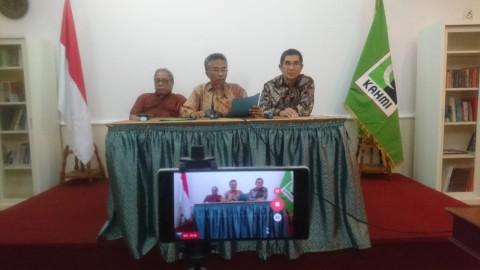 Koordinator Presidium KAHMI Hamdan Zoelva (kanan). Foto: Istimewa