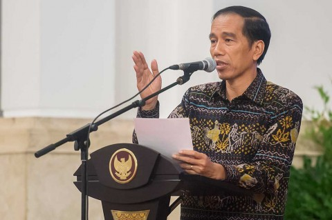 Presiden Jokowi. Foto: Antara/Widodo S Jusuf.
