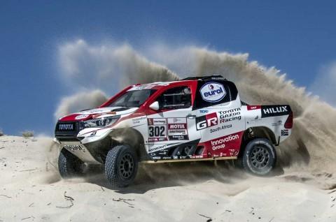 Intip Mobil Balap Baru Tunggangan Toyota Gazoo Racing