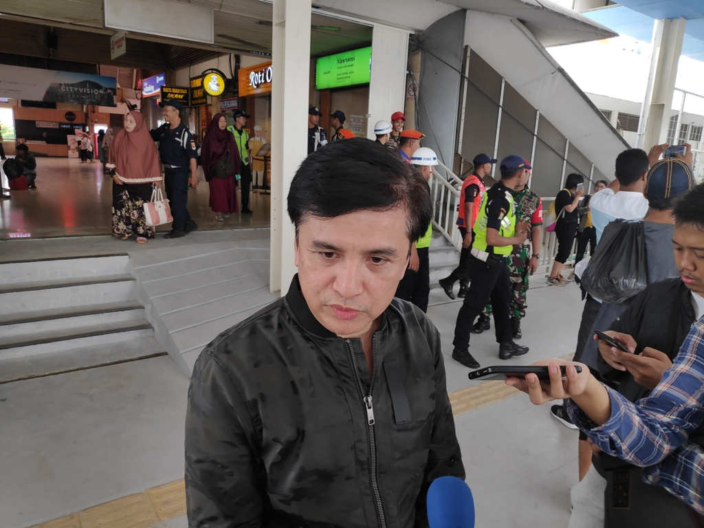Direktur Utama PD Pembangunan Sarana Jaya Yoory C Pinontoan. Medcom.id/M Sholahadhin Azhar.