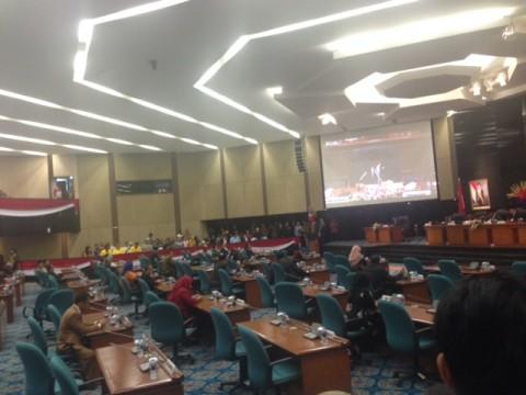Ilustrasi rapat anggota DPRD DKI Jakarta - MI/Yanurisa Ananta.