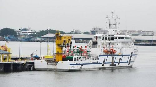 Kapal Polaris milik Malaysia. (Foto: Facebook Abi Muaz Al Buduwi
