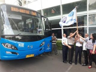 BPTJ Buka Rute Bus Tangerang-Bandara Soetta