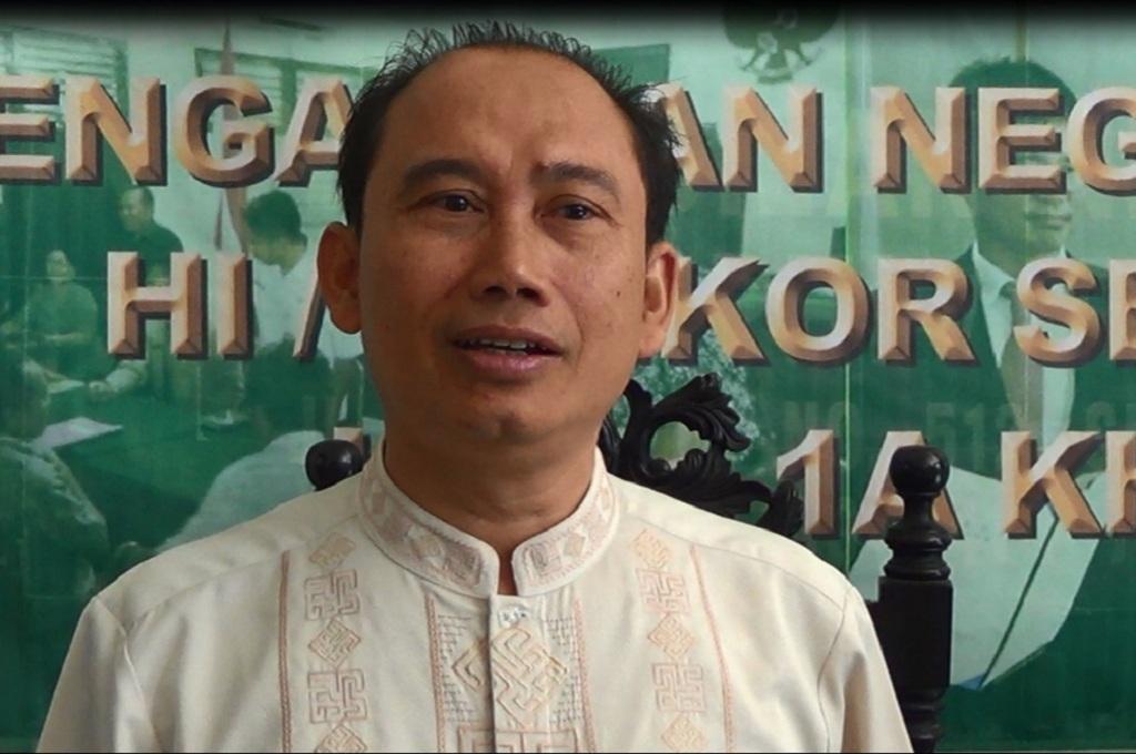 Juru bicara PN Semarang, Eko Budi Supriyanto, Medcom.id - Budi Arista