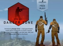 Danger Zone, Mode Battle Royale dari CS:GO