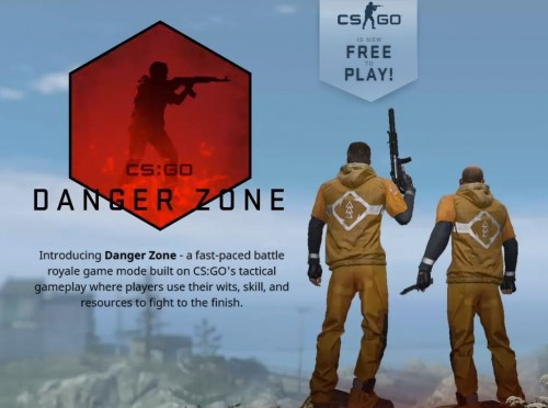 Danger Zone, mode Battle Royale CS:GO.