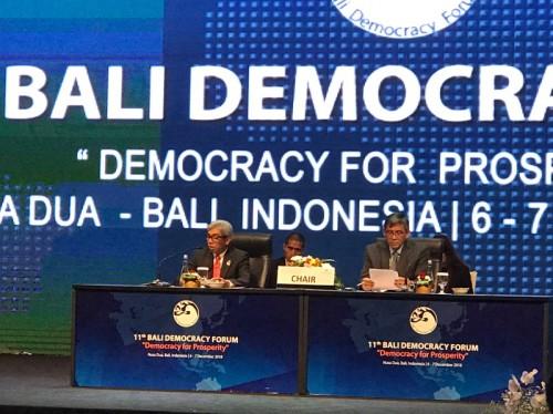 Wakil Menteri Luar Negeri AM Fachir menutup gelaran Bali