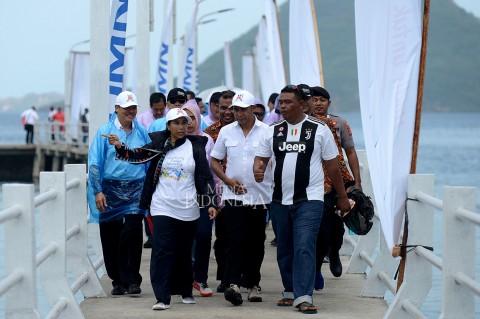Menteri Rini Resmikan Dermaga Pulau Rinca NTT