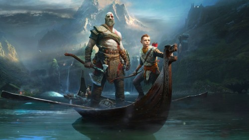 Game God of War.
